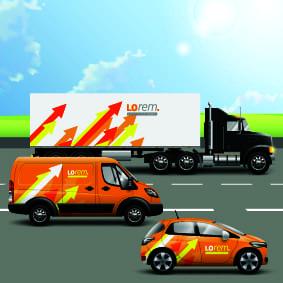 rotulacion vehiculos de empresa